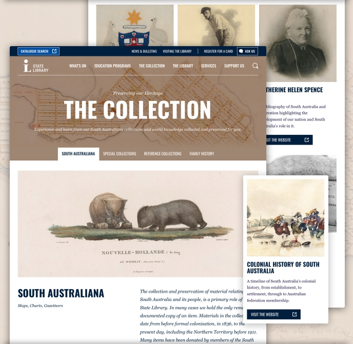 State Library of South Australia collections